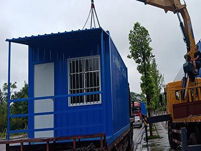 内江市中区国金中心集装箱项目