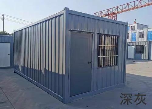 大波纹板A级防火集装箱